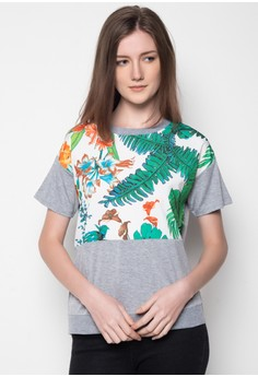 Tropical Print Tee