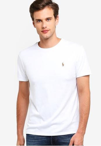 Shirt Sleeve Neck Crew Short T Slim v0m8nyNOw