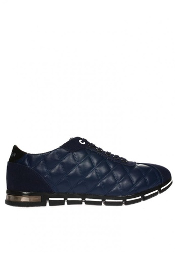 New York Sneakers navy Lyall 1902 Low Cut Shoes 3FDC2SH1132C3CGS_1