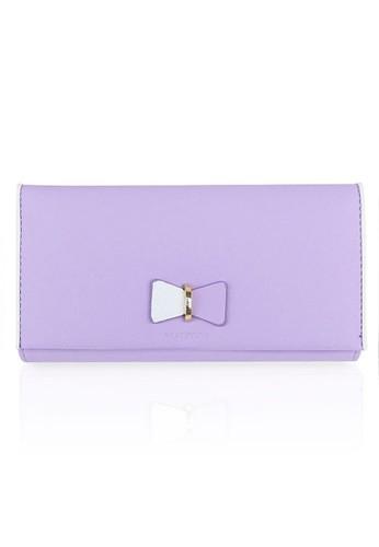 VERNYX - Woman's Pretty Zys Wallet DO402 Purple - Dompet Wanita