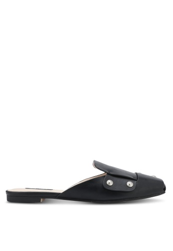 ZALORA black Studded Mule Slides 07116SHA5325C6GS_1