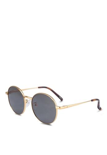 BLANC & ECLARE gold Barcelona Sunglasses CBB1EGL811F8DDGS_1