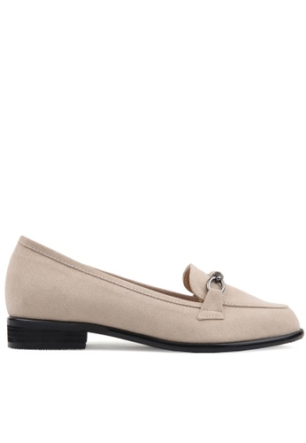 SPUR beige Bar Chain Loafer B4DE8SHD5A92C1GS_1