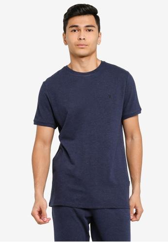JBS of Denmark navy Basic Piqué T-Shirt C7F3FAA91514F2GS_1