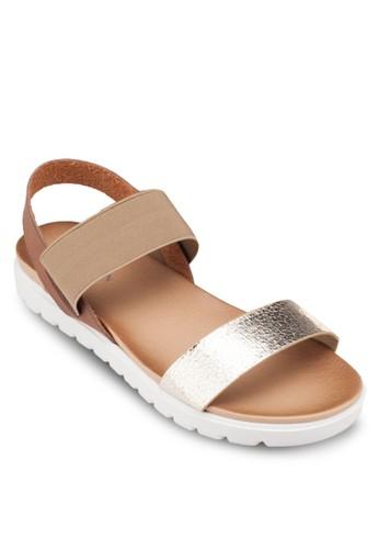平底繞踝涼esprit童裝門市鞋, 女鞋, 鞋