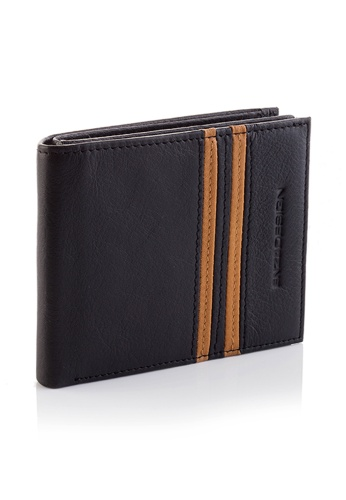 ENZODESIGN black 18 cards Top Grain Cow Nappa Wallet EN115AC11ZSAPH_1
