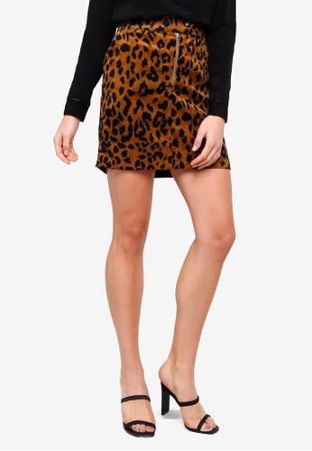 Vero Moda black Sally Short HW Corduroy Skirt F0EDDAA3B9CA82GS_1