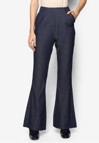 丹寧喇叭長褲,esprit tw 服飾, 長褲及內搭褲