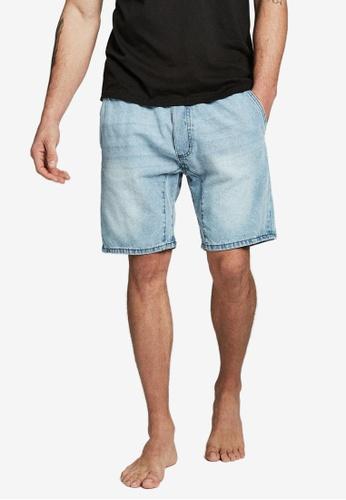 Cotton On 藍色 Custom 丹寧短褲 28232AA5685138GS_1