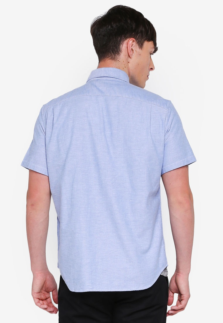 Shirt Oxford GAP Imperial Basic Blue x50WXwqaa
