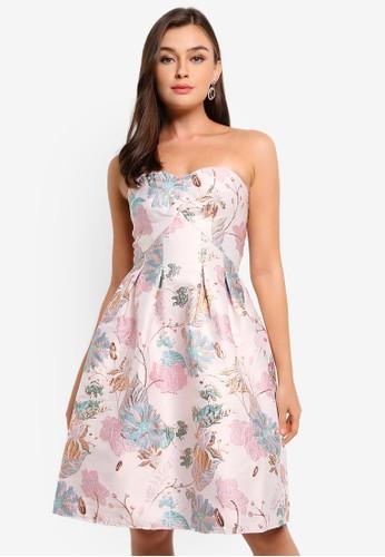 CHI CHI LONDON pink Petite Maida Dress B5954AA455256AGS_1