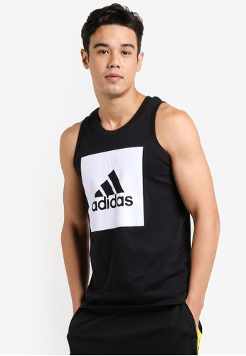 adidas black adidas Essential Tank Top AD372AA0SUFHMY_1