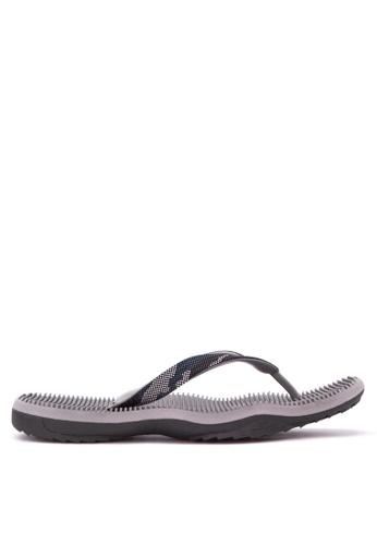 Krooberg grey Contour Flip Flops KR692SH54QOZPH_1