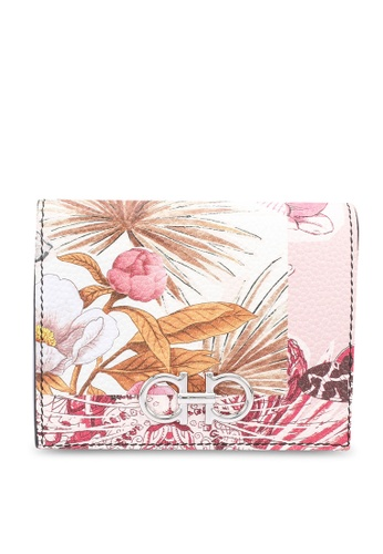 Ferragamo multi Gancini Silk Capsule Wallet (zt) 83878AC714272BGS_1