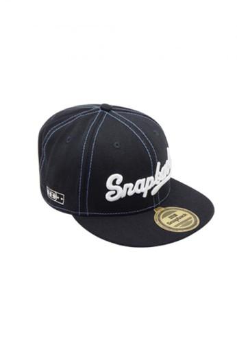 Snapback black and grey Snapback wool sambung navy hiphop SN532AC12PHRID_1