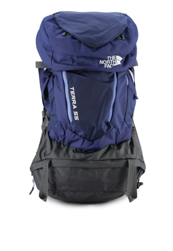 The North Face blue W Terra 55 Backpack TH274AC0S7K9MY_1