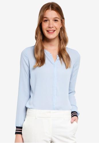 Modstrom blue Jolene Shirt 04E12AAE81E516GS_1
