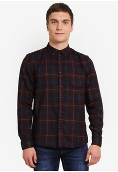 Image of Check Long Sleeve Shirt