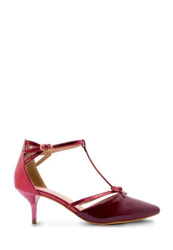 Sepatu Wanita Low Heels Merah