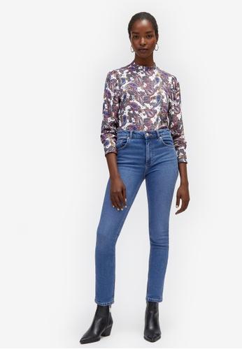 a336887ecc Shop WAREHOUSE Sculpt High Rise Skinny Jeans Online on ZALORA Philippines