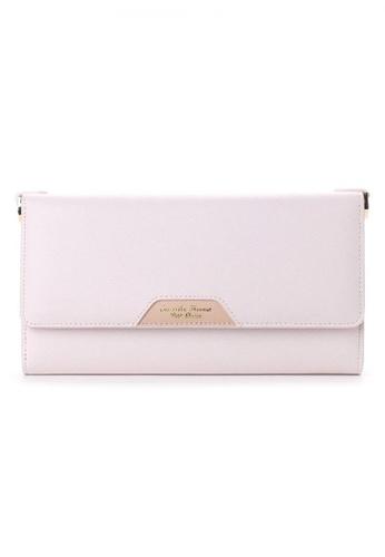 Samantha Thavasa pink Samantha Thavasa Petit Choice Audrey Card & Phone Mini Bag 3FE6AACAEE46E3GS_1