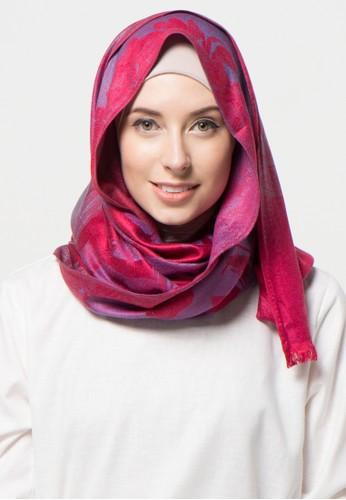 SHALIMAR red Shalimar Pashmina Yatch Design SH713AA97CLQID_1