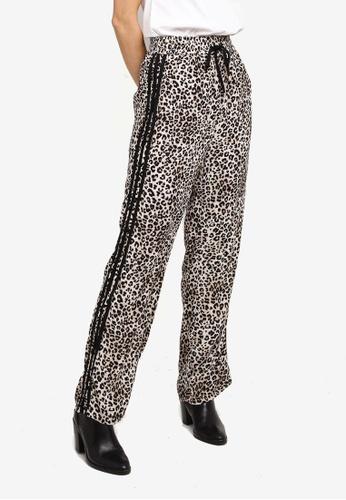 Hopeshow multi Leopard Print Long Pants FC6C4AA8A54215GS_1