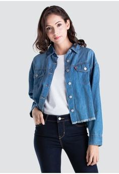 caa41938 Levi's blue Levi's Ash Shirt Women 68978-0000 42CF3AA65CDE57GS_1