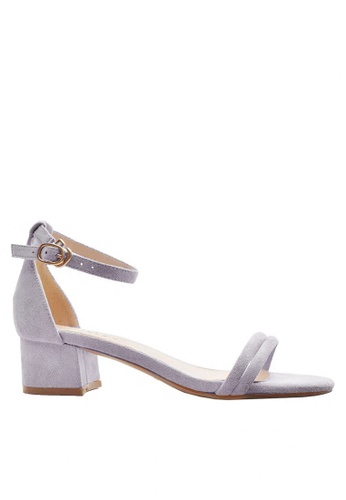 Twenty Eight Shoes Girly Ankle Strap Heeled Sandals 320-16 D470CSH530E998GS_1