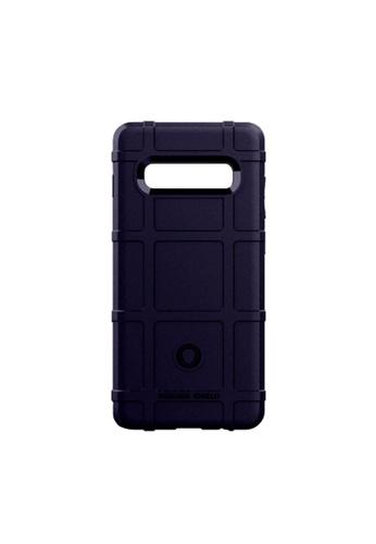 MobileHub blue Samsung S10e Rugged Shield Case 5381AACAE59468GS_1
