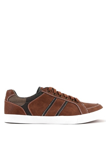 World Balance brown Remington Mens Sneakers 02BDBSH9AB5A62GS_1