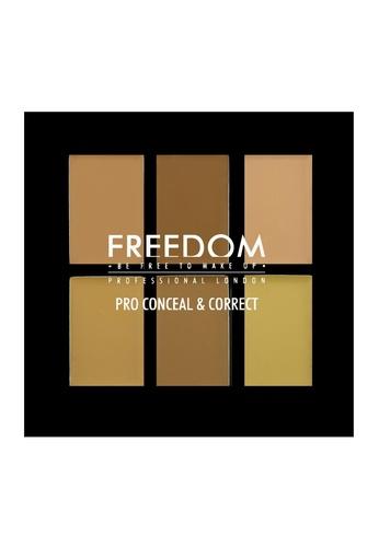 Freedom Makeup Freedom Pro Conceal Palette Light/Medium FR785BE07DFKSG_1