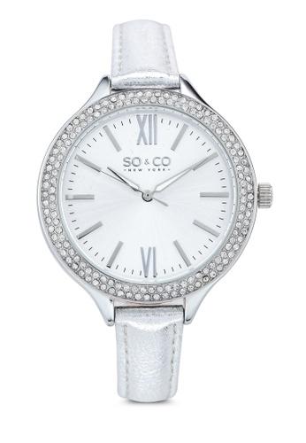 SO&CO silver SoHo 5089.1 Watch 42BA7ACDBDC0E4GS_1