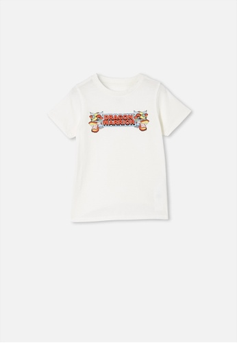 Cotton On Kids white Max Short Sleeve Tee 5E495KA20820DCGS_1