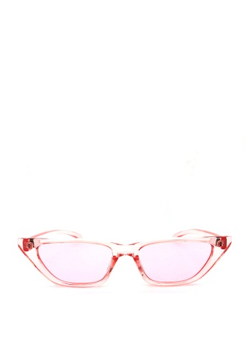 Kaca-kaca pink Kaca Kaca Lolly Pink Sunglasses D8FEFGL8BEE8CDGS_1