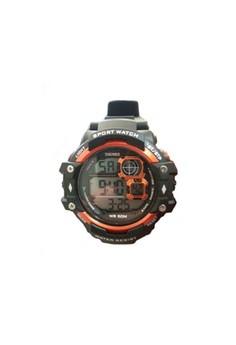 SKMEI 50M Water Resistant Sport Digital Watch - Orange