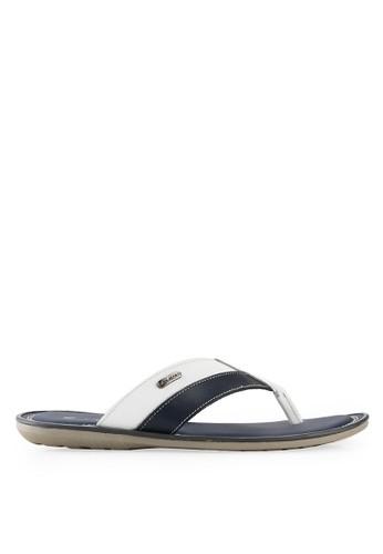 Pakalolo Boots white Thong Sandal PA409SH17IVEID_1