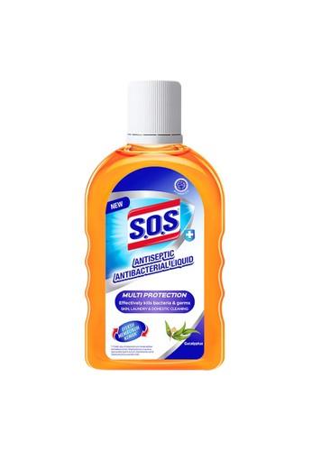 SOS SOS Antiseptic Anti Bacterial Liquid - 250 mL 2F0AAES635FCC2GS_1