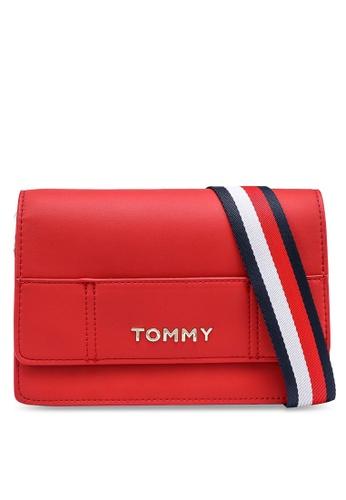 Tommy Hilfiger red Item Statement Crossbody Bag 03FE7AC2DA144CGS_1