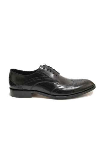 Kings Collection black Messina Oxford Shoes 99C19SH73F7EC0GS_1