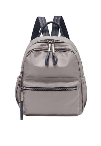 Twenty Eight Shoes brown VANSA Nylon Oxford Backpacks VBW-Bp3651 3383CAC3EB8F36GS_1