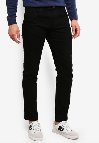 OVS black Skinny-Fit Stretch Trousers 724FAAAFE23BC7GS_1
