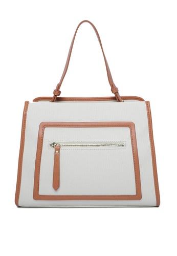 Milliot & Co. brown Setlla Tote Bag 05F7FAC895C22FGS_1