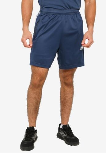 ADIDAS 海軍藍色 d2m 3-stripes shorts 598BDAA1BADFBDGS_1