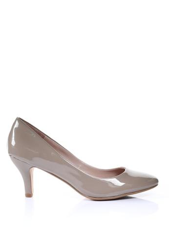 PRODUIT PARFAIT 米褐色 漆皮高踭鞋 1D54ASH5A0025AGS_1