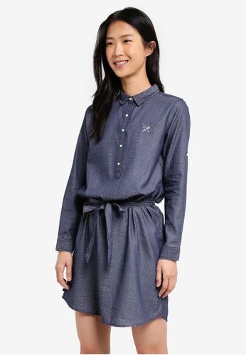 REGATTA blue Regular Length Sheath Dress CBC97AA1A0D743GS_1