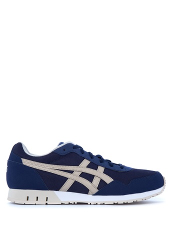 ASICSTIGER brown and blue Curreo Sneakers AS118SH12TIPPH_1