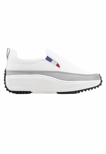 Crystal Korea Fashion white Korean New Versatile Platform Casual Shoes 7703FSHB8C541CGS_1