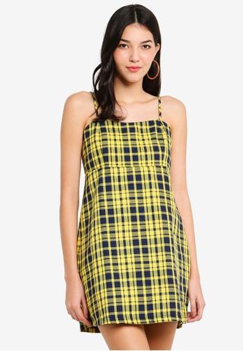 Factorie yellow Slip Dress 7BEF4AA1F6EE95GS_1