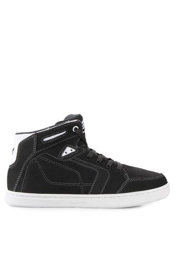 Homypro grey Storm Hi-Top Sneakers HO843SH60CLBID_1